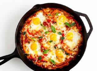 Portuguese Baked Eggs