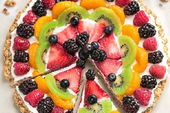fruit salsa fruit pizza healthy