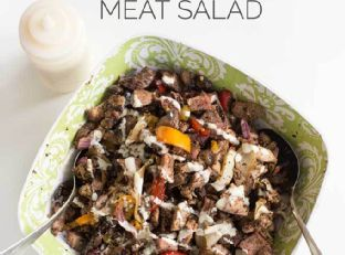 Real Man's Greenless Meat Salad