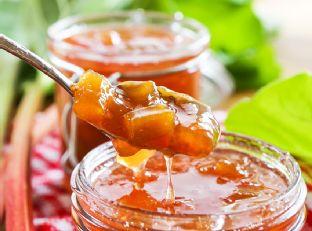 Rhubarb Peach Jam Image