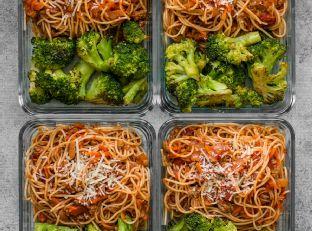 Spaghetti Meal Prep Image