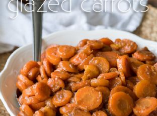5 Minute Brown Sugar Glazed Carrots Image