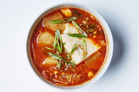 Tofu and Kimchi Stew
